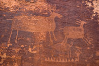 - Formative Period Petroglyph at the Dark Angel Rock Art Site, Arches NP -