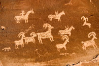 - Ute Petroglyph at Wolfe Ranch, Arches NP -