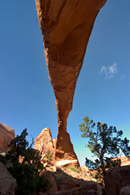 - Looking Up From Beneath Landscape Arch, Arches NP -