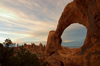 - Double O Arch, Late Afternoon, Arches NP -
