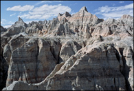 - Erosion Formations near Norbeck Pass, Badlands NP -