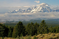 - The Teton Range After an Early Fall Snow Storm, Grand Teton NP -