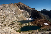 - Upper & Lower Crystal Lakes, Mineral King Area, Sequoia NP -