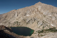 - Upper Monarch Lake and Sawtooth Peak, Mineral King Area, Sequoia NP -