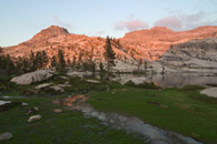 - Last Light on the Ridge Above Pear Lake, Sequoia NP -