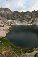 - Looking Down on Pear Lake From the East, Sequoia NP -