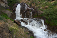 - Unnamed Waterfall in Farewell Canyon, Mineral King Area, Sequoia NP -