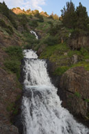 - Cascade in Farewell Canyon, Mineral King Area, Sequoia NP -