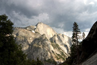 - Storm Clouds Over Half Dome, Seen From Tenaya Canyon, Yosemite NP -